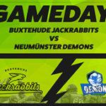 Auswärtsspiel Jackrabbits vs. Neumünster Demons