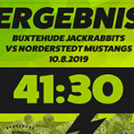 Spielbericht| Saturday Night Game| Norderstedt Mustangs vs. Buxtehuder Jackrabbits
