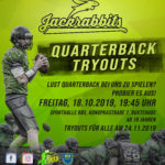 Quarterback Tryouts im Oktober
