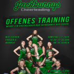 Probetraining Cheerleading